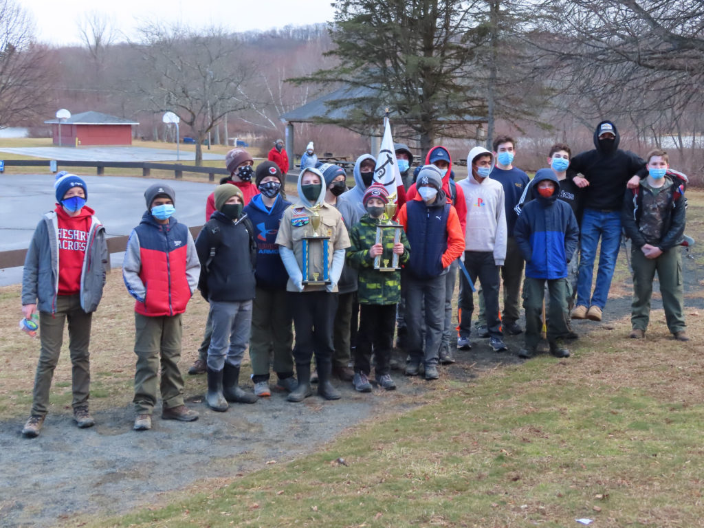 Group picture from Klondike Derby.
